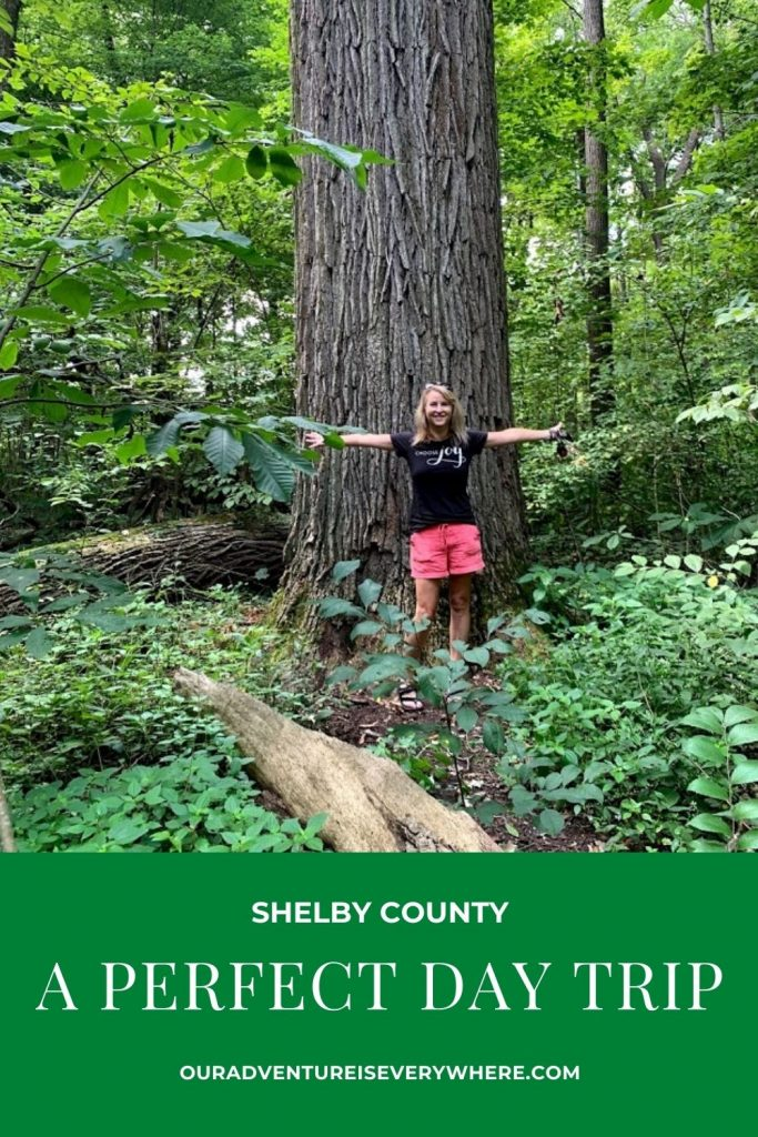 Ready for a fun day trip less than an hour from Indianapolis? Check out all that Shelby County has to offer - hiking, history, delicious food, a vibrant nightlife and more! #daytrips #localtourist #familyfun