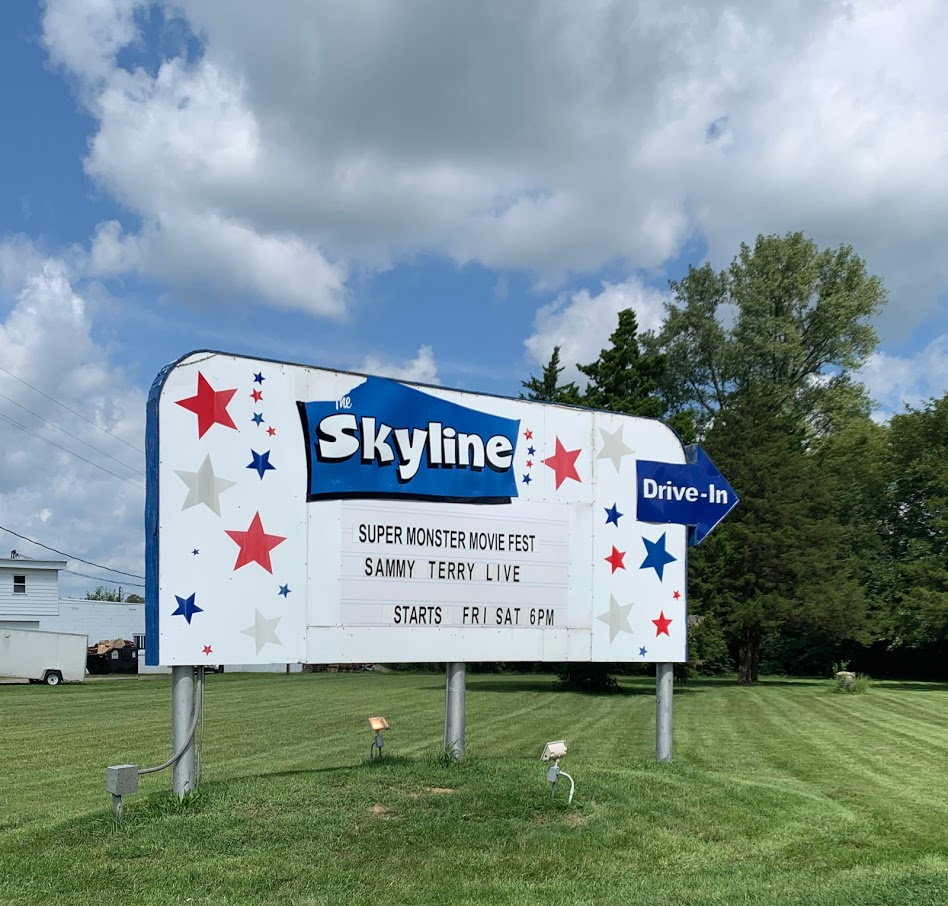 Visit the Skyline Drive-In for old-fashioned movie fun!