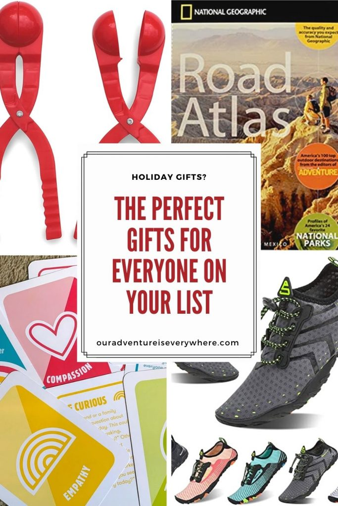 Are you looking for the perfect gift for everyone on your list this holiday season? I've got something for EVERYONE - check it out and be the best gift giver ever! #giftguide #holidaygifts #giftgiving