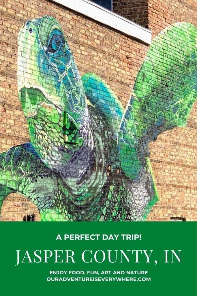 Ready for an exciting day in Jasper County, Indiana? On this perfect day trip from Indy, you'll discover sandhill cranes migrating, taste delicious beer & wine and marvel at the #RenArtWalk.  #localtravel #midwestgetaway #midwestfun