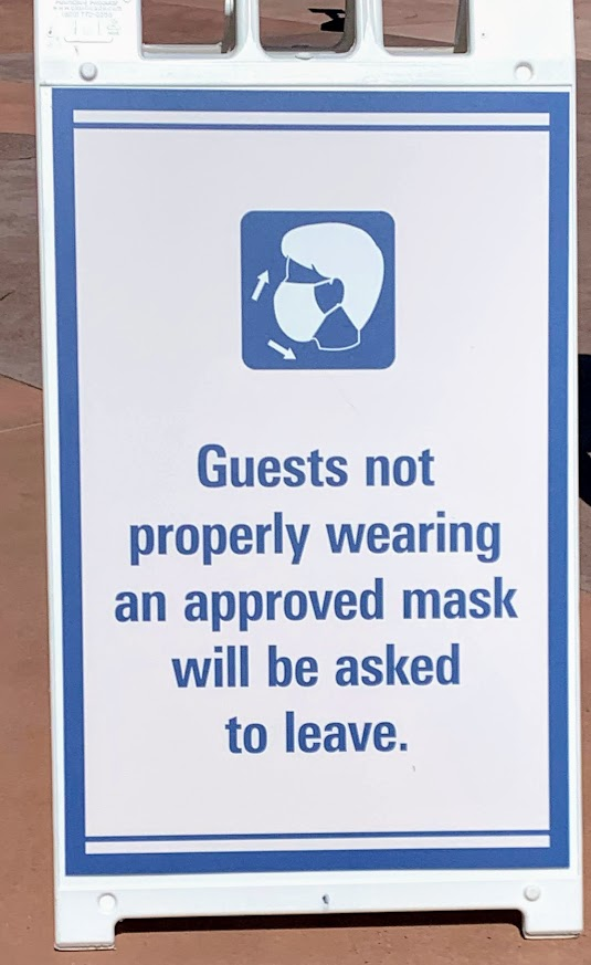 Signs at Disney
