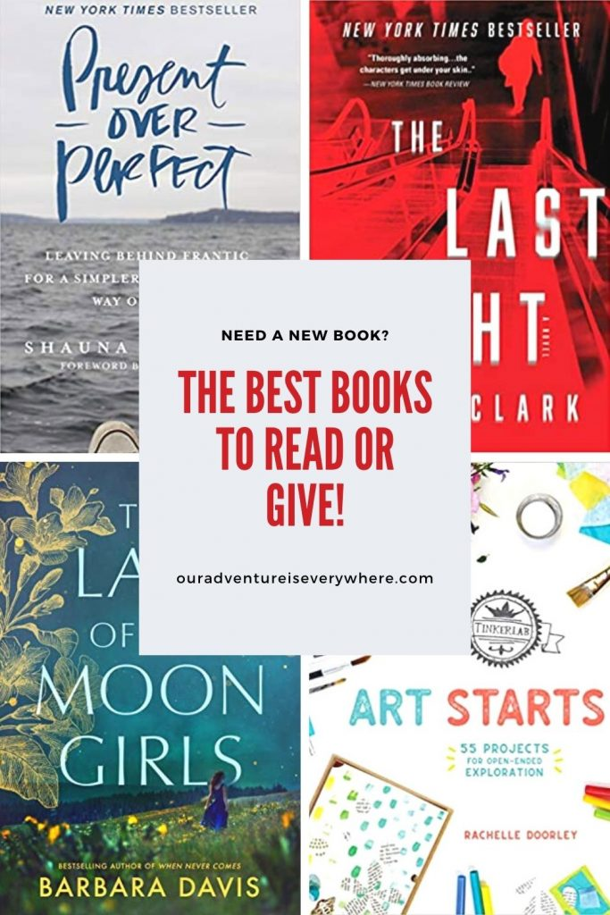 Are you looking for a terrific new book to read? Or maybe that perfect gift for someone special on your list? You'll find exactly what you need with one (or more) of these books! #bookreviews #giftideas #reading