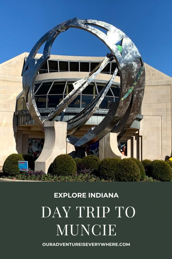 If you are looking for a fun day trip from Indianapolis, Muncie has everything you need! With great food, art, history and more, you'll have a perfect day! #daytrips #getaways #Indianatravel
