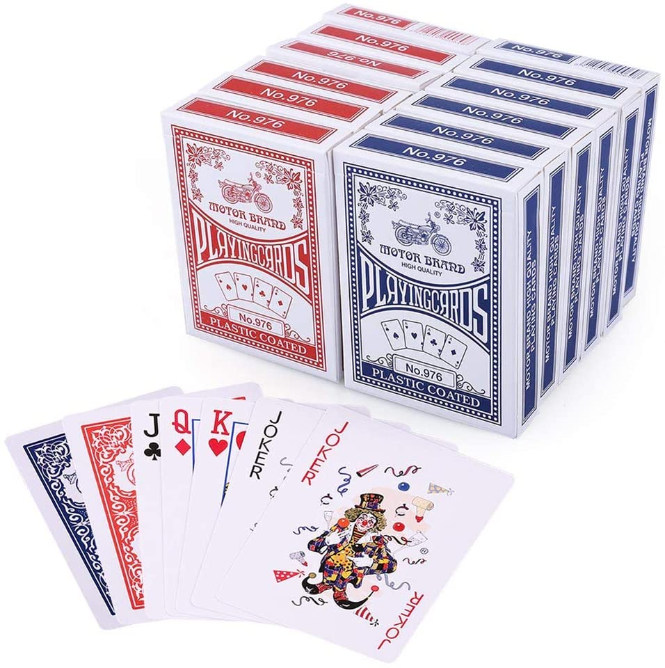 Have several decks of cards on hand to play some of the best family games!