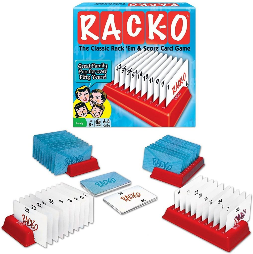 Racko is an all time favorite family game