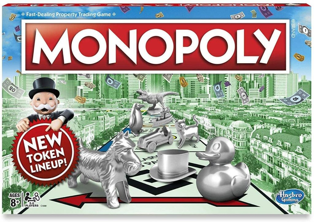 Monopoly is one of the BEST family games to play.