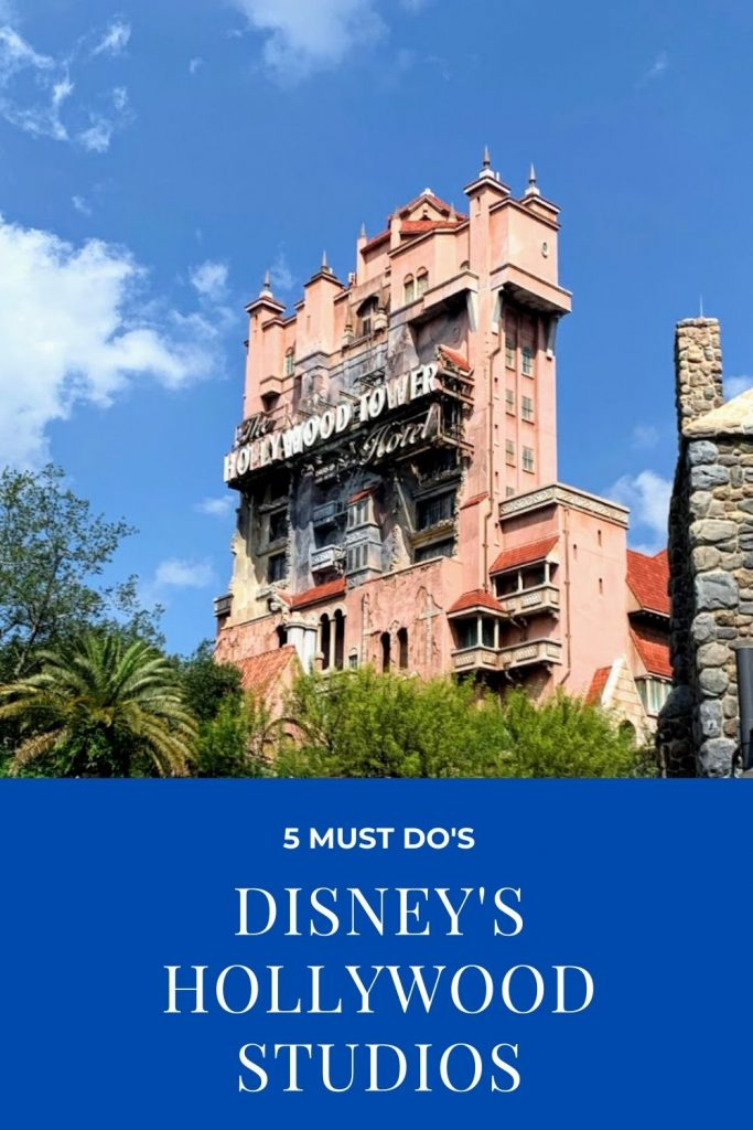 Visiting Walt Disney World and heading to Hollywood Studios? It can be a busy park, so when you plan your day, make sure you include these 5 must-do's. Cover these and you'll have a great day!!! #disney #disneyvacation