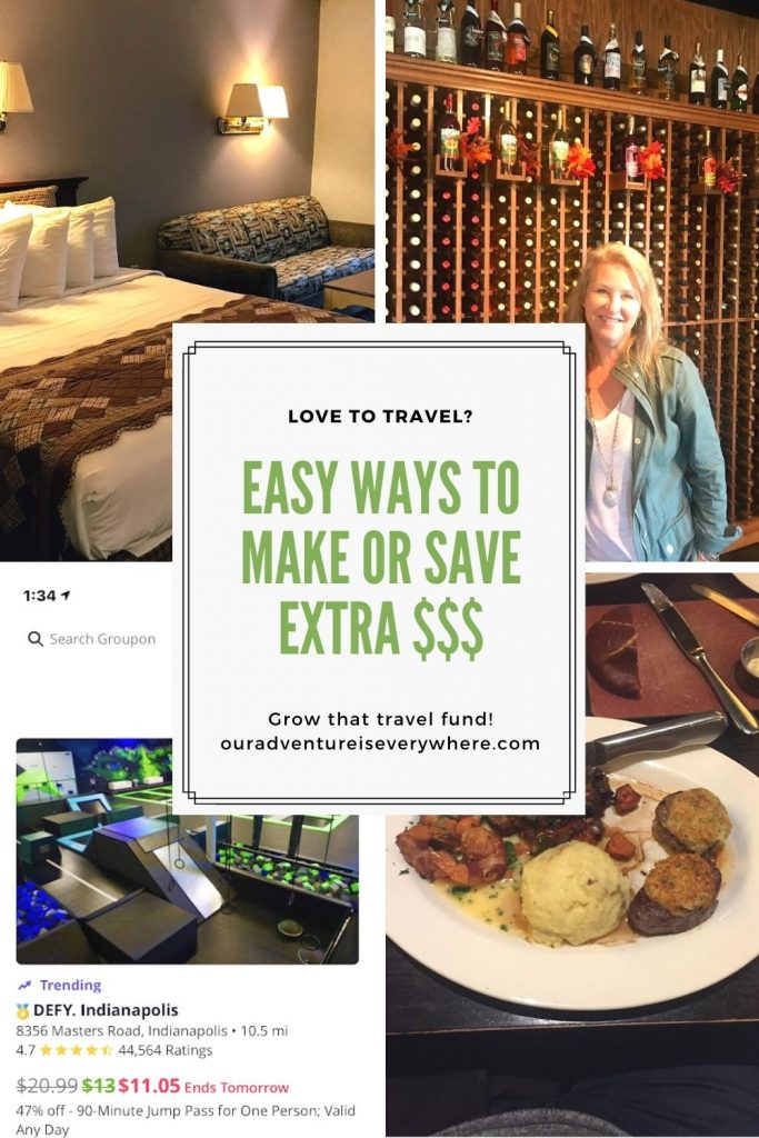 Do you love to travel? Looking for ways to grow your travel fund? Here are two fun and easy ways to save and make money for your next trip! #savemoney #travelfund #travelplanning