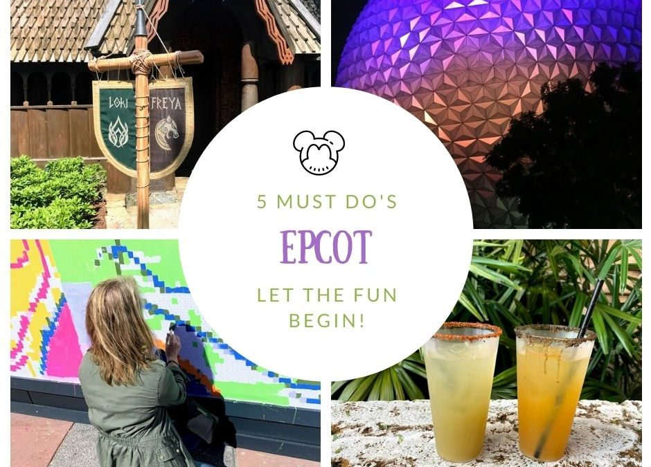 Enjoy the day at Epcot!