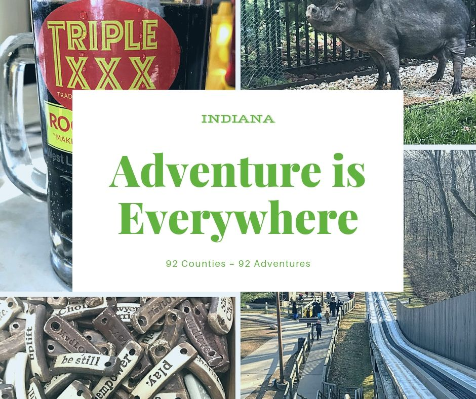 Explore Indiana by having fun in all 92 counties! One of my goals for 2021.