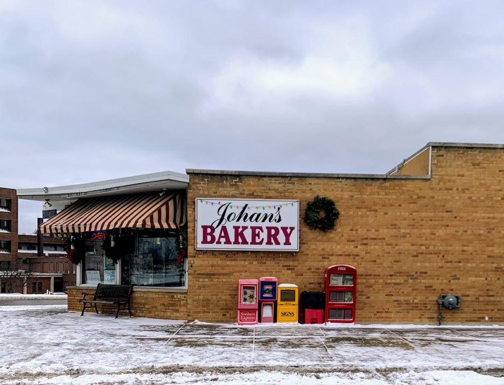 Stop by Johan's Bakery for breakfast