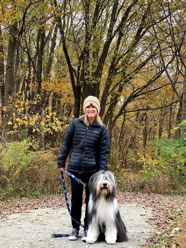 Walking Bernie is the best way to stay healthy!