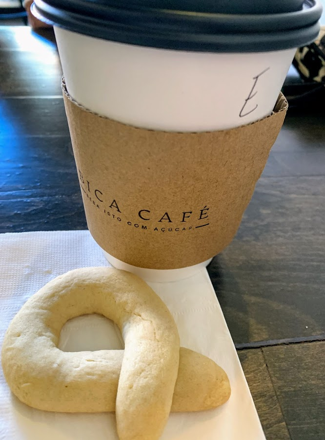 Enjoy a Bica and biscoito at Bica's Cafe in Noblesville.