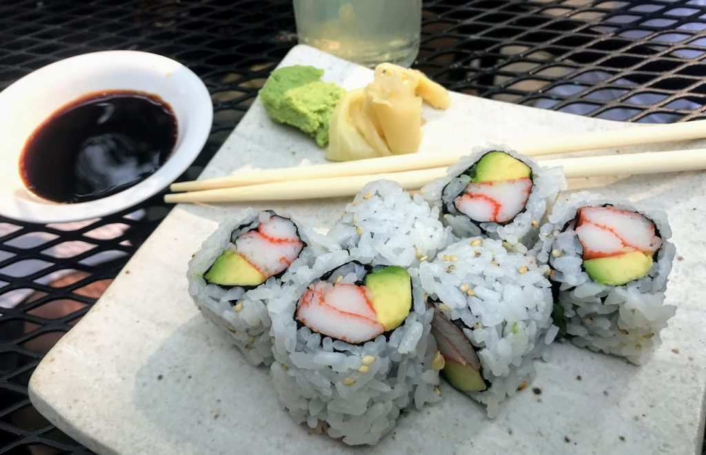 Sushi at Chiba is a great date idea in Hamilton County