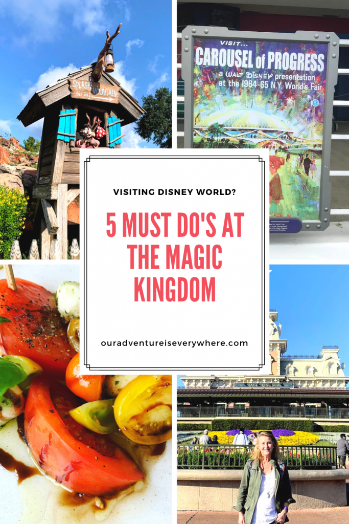 Are you planning a trip to Disney World? If you know you'll spend a day at the Magic Kingdom, be sure to enjoy these top 5 must do's! You'll for sure have a magical day.