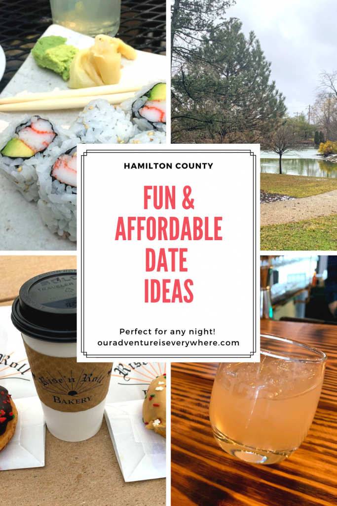 Are you looking for fun & affordable date ideas? These 10 I share in Hamilton County are perfect! Live somewhere else? Use them for inspiration in your own area! #datenights #dateideas #ouradventureiseverywhere