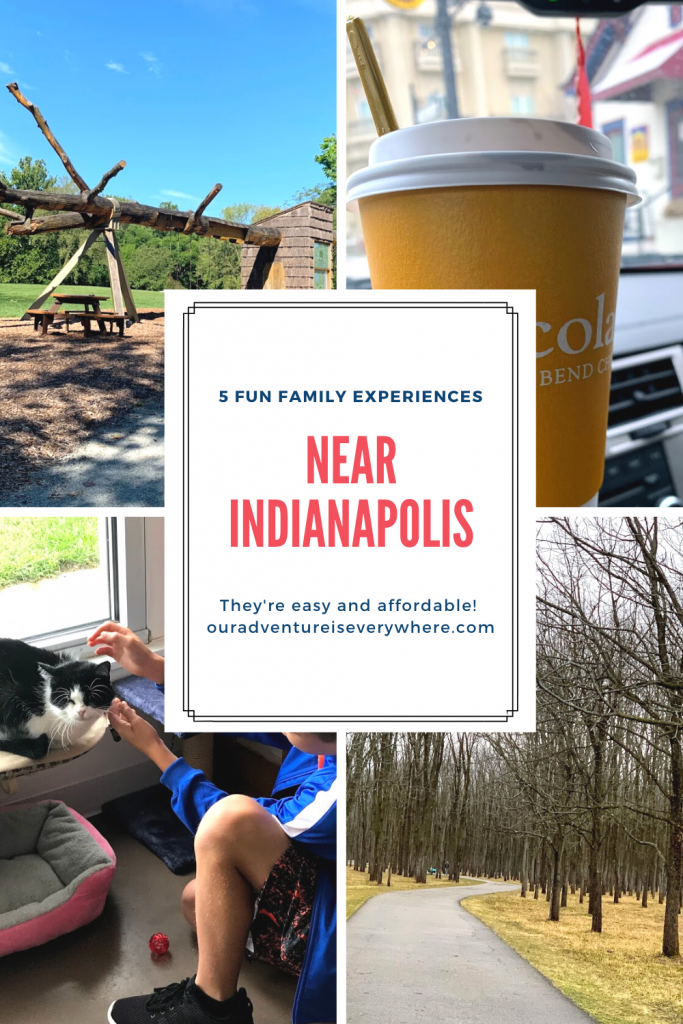 Are you looking for fun things to do with the family? Check out these 5 fun family experiences near Indianapolis. Don't live in Indy? Use them for inspiration in your hometown! #midwesttravel #familyfun