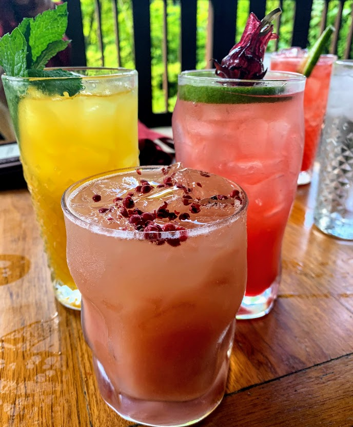 Fun drinks at the Nomad Lounge at Disney