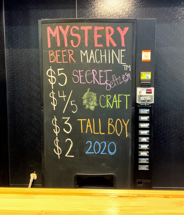 Who's up for a mystery beer at Fowling Warehouse?