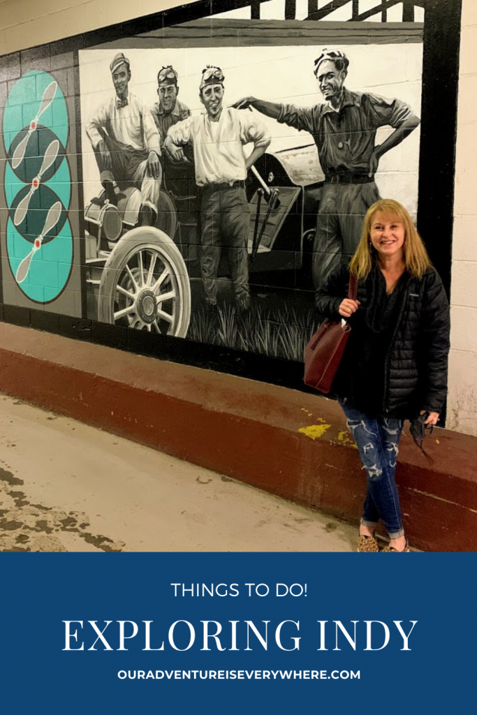 Are you looking for things to do in Indianapolis? I've got a fun day planned for you at the Indianapolis Circle City Industrial Comples. Art, drinks, chocolate and football bowling! All in one terrific location. #Indiana #MidwestTravel #FamilyFun