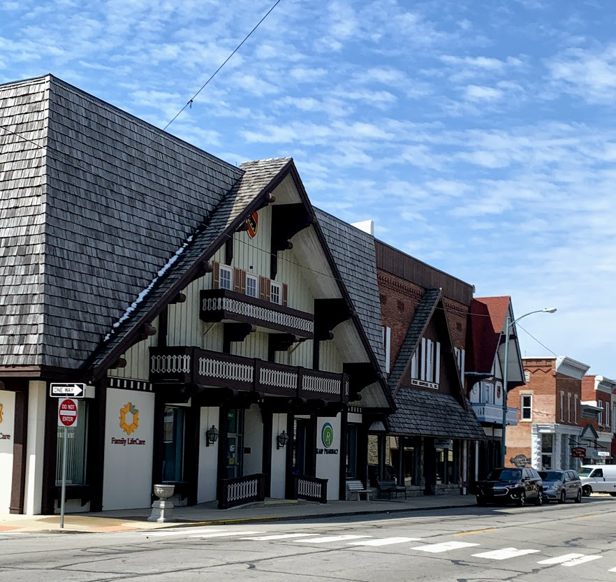 Downtown Berne, Indiana