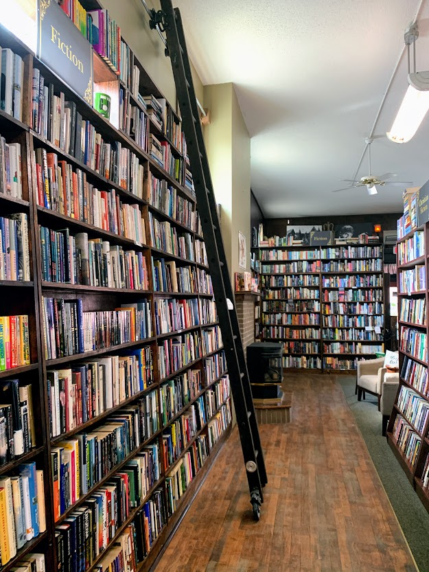Bookstore in downtown Decatur, Indiana