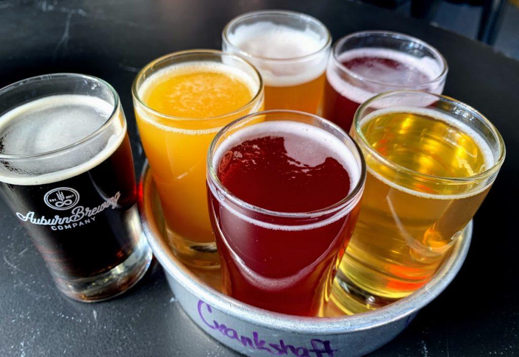 Enjoy the brews at Auburn Brewing Company