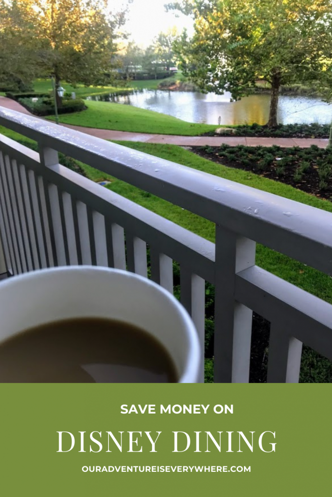 Are you headed to Disney? Do you want to save a little money while still enjoying all the delicious dining opportunities? Here are all my favorite money saving tips! #disney #foodie #saveontravel