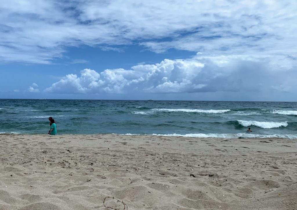 Enjoy the day at the beach when visiting Pompano Beach, Florida