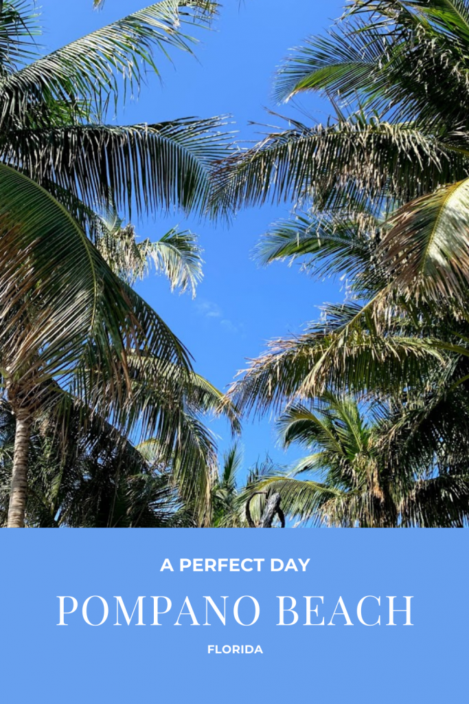 Are you planning a trip to Pompano Beach, FL? If so, be sure to add this perfect day to your itinerary - you're guaranteed to have a wonderful time! A little beach time, water taxis, delicious seafood and more!