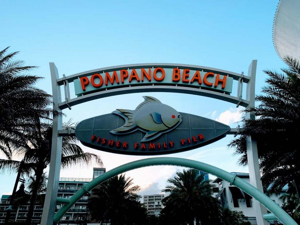 The Pompano Beach Pier