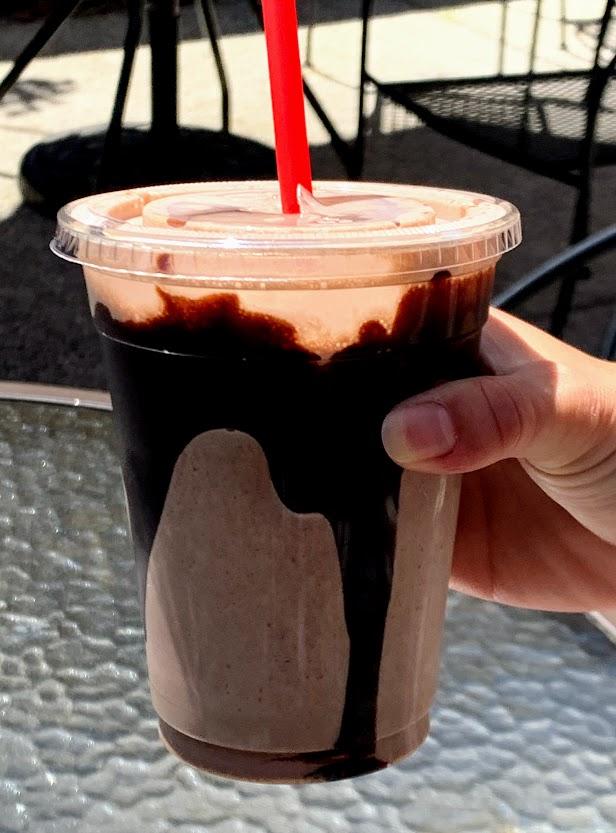 Frozen Hot Chocolate from Whetstone Chocolates
