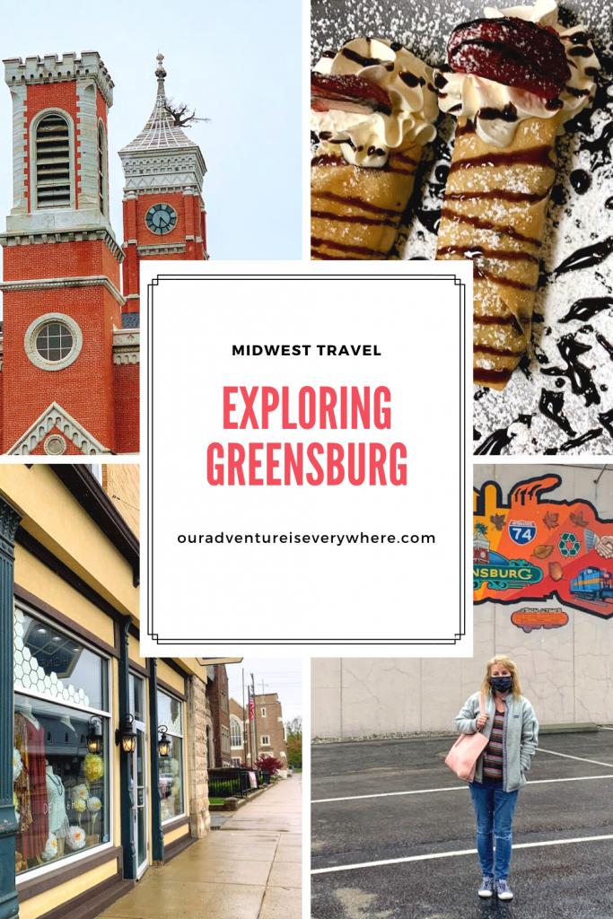 Get ready for some unique things to do in Greensburg, Indiana. The Decatur county courthouse, Indonesian food and more! Take a quick detour off the Interstate to see what you can discover. #MidwestTravel #Greensburg #IndianaFun
