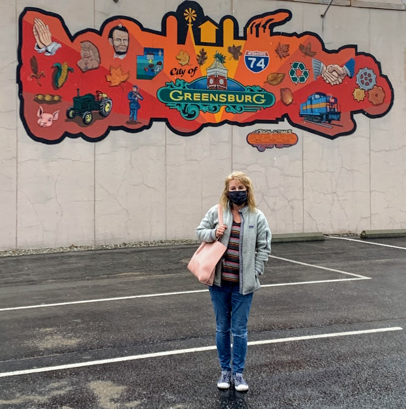 Exploring downtown Greensburg, Indiana