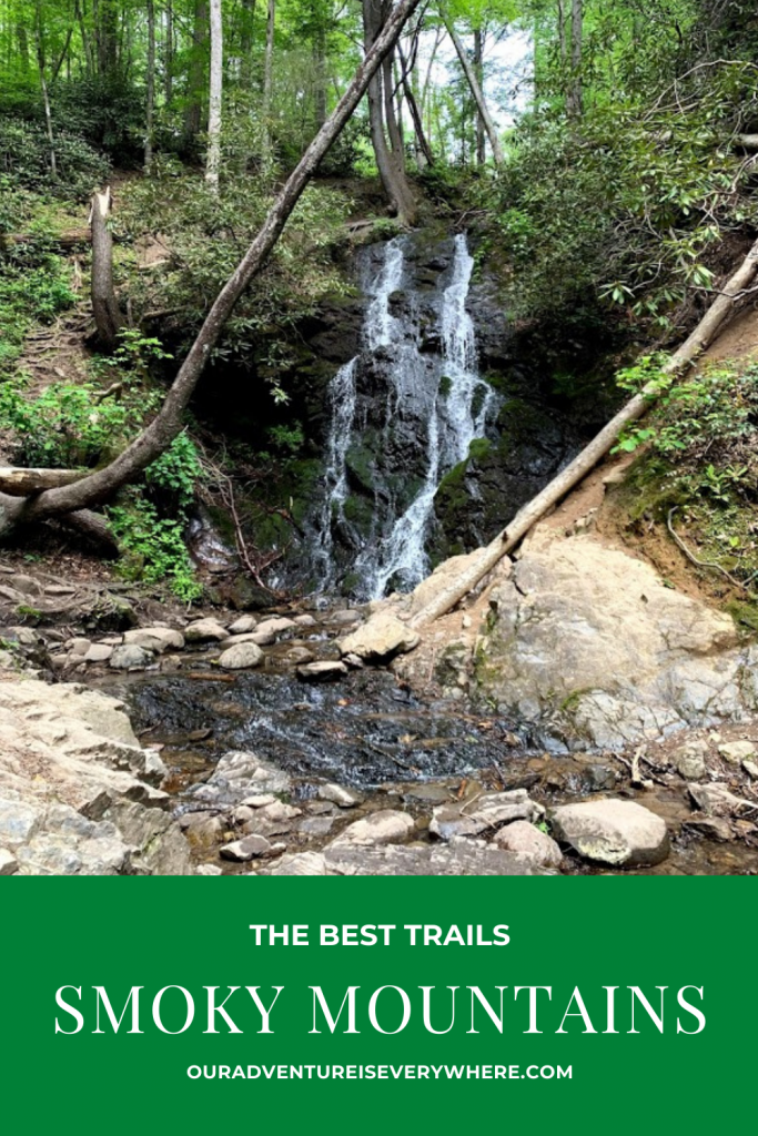 Three of the BEST trails in the Great Smoky Mountains National Park. From one of the easiest trails to a more challenging one, you'll discover the best hike for YOUR group. #hiking #SmokyMountains #TennesseeTravel