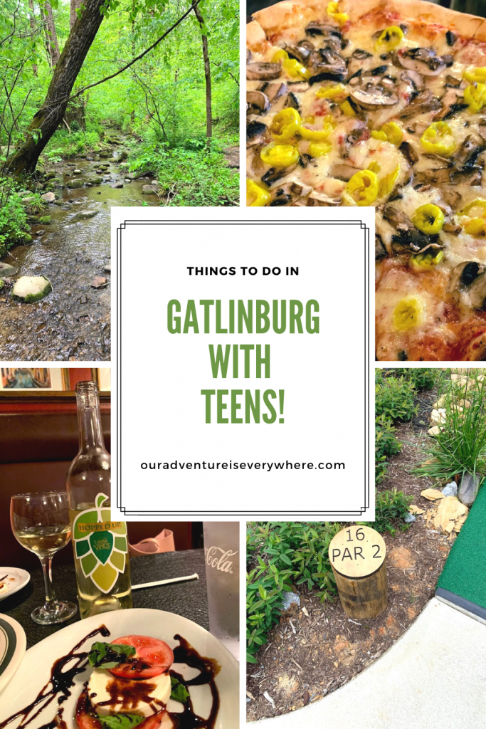 Are you visiting Gatlinburg with your teens anytime soon? Get some great ideas for fun things to do in Gatlinburg with your teens! Plus some of the BEST places to eat!!! #TeenTravel #TennesseeTravel #Travel