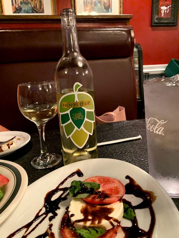 Caprese salad at Taste of Italy