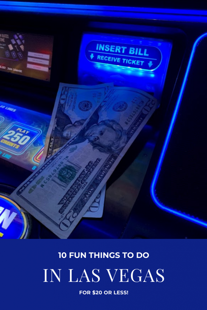 Are you heading to Las Vegas and want to have a blast without spending a fortune? Try some or all of these 10 fun things to do in Las Vegas for $20 or less! #LasVegas #SaveMoney #AffordableTravel