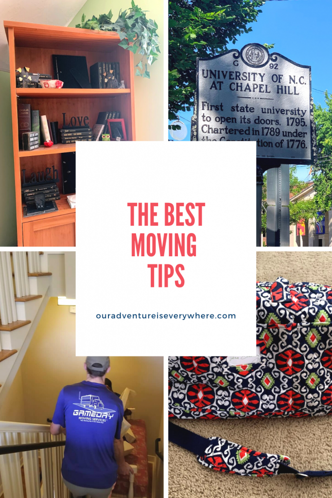 Are you planning a move in the near future? Or maybe you have kids heading to college? Or just want to downsize? Regardless of your intentions, here are my best tips for a smooth move! #movingtips #moving #organization