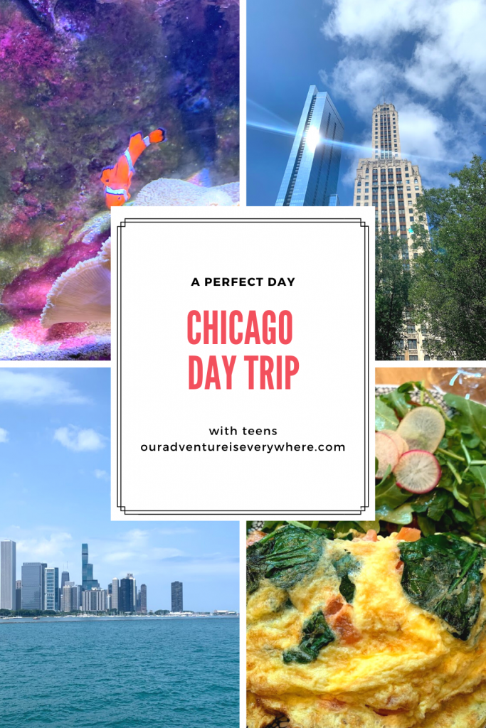 Do you love Chicago? If so, here is the perfect day to enjoy as a couple or with a few teens along. Chicago is a terrific city for weekend getaways, day trips and more! #daytrips #MidwestTravel #getaways