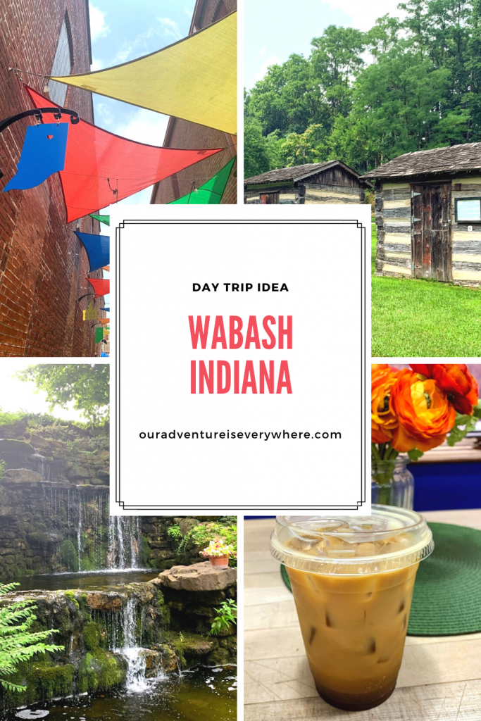 Wabash is a great place for a day trip in Indiana. Just a little over an hour from Indianapolis, you'll find cute shops, beautiful parks and delicious food. Along with live music and interesting history! #daytrips #Midwestdaytrips #explorelocal