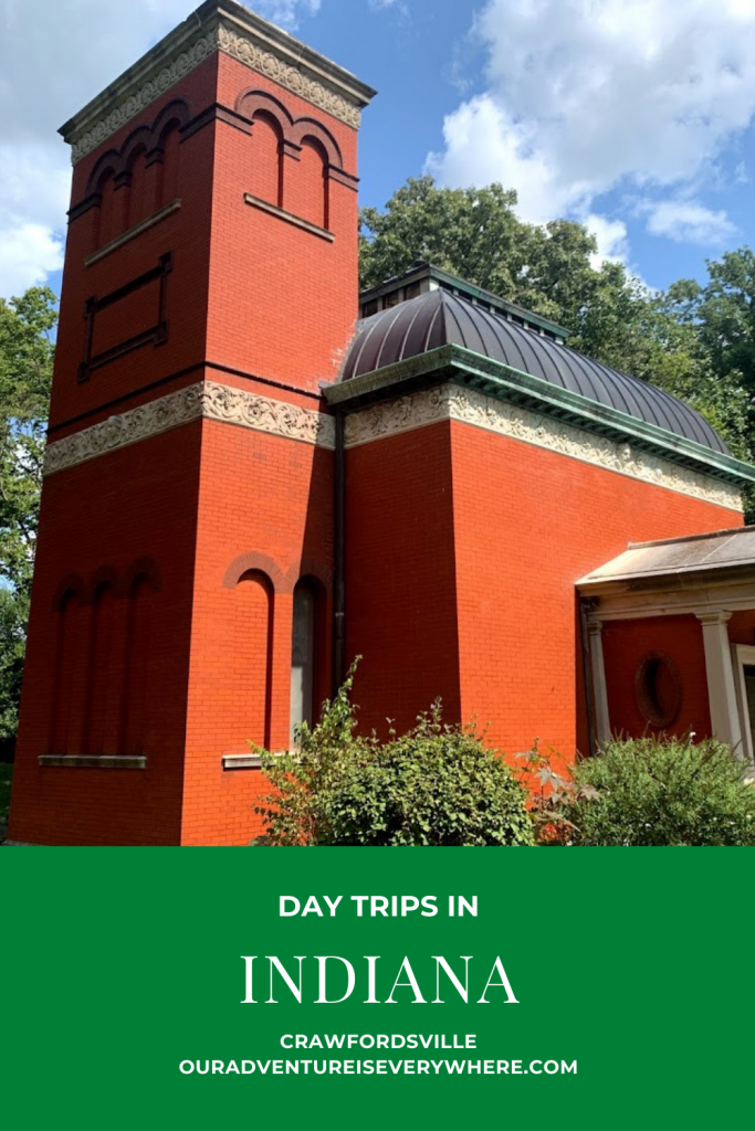 Looking for a great day trip from Indianapolis? With a rotating jail, famous author's study, tasty lunches and an EXCELLENT coffee shop, Crawfordsville, IN has plenty of things to do! #localtravel #daytrips #Indiana