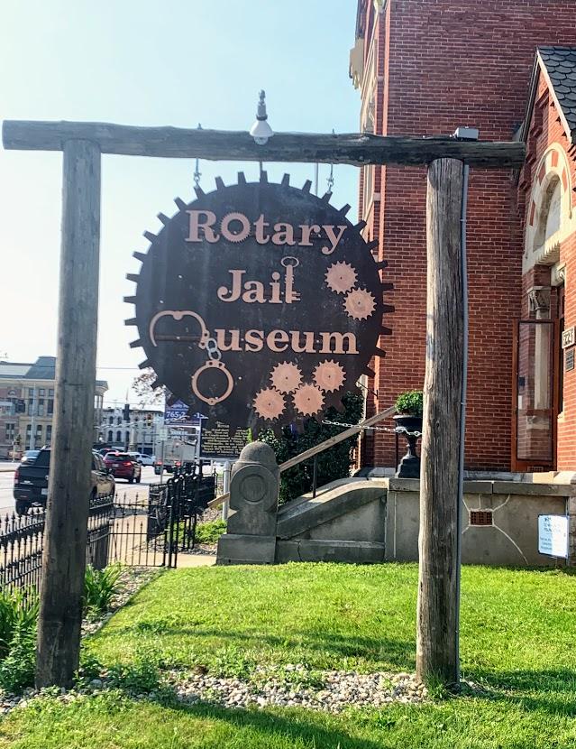 Rotary Jail Museum in Crawfordsville