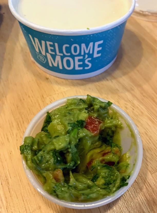 Guacamole from Moe's