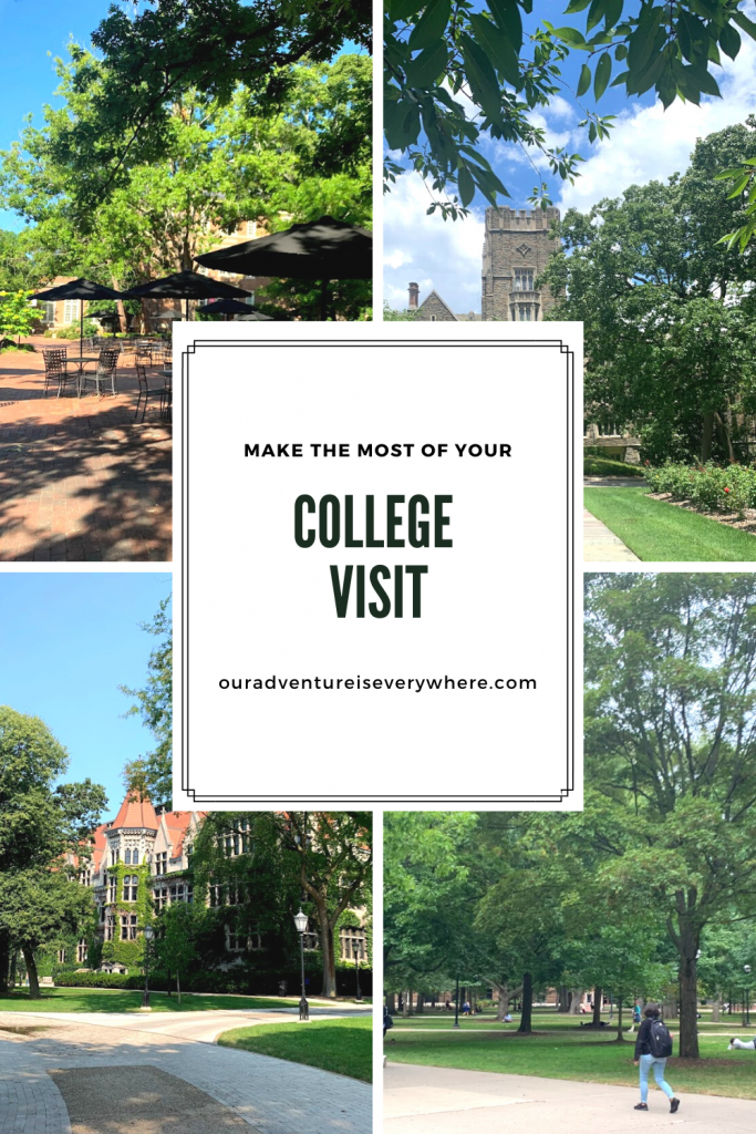 Are you feeling overwhelmed by visiting colleges for your high school junior or senior? It's a lot! After quite a few college tours, we've found the BEST way to get the most out of your college tour. Check it out and make those visits more fun AND useful! #collegevisits #collegetours #colleges